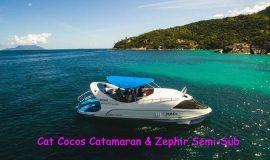 Båttur i perfekt väder under en resa till Seychellerna