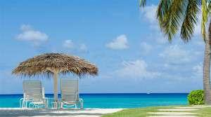 Total avkoppling på Grand Cayman Island